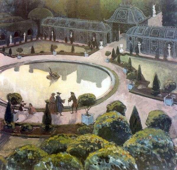 温室。凡尔赛宫   Alexander Benoit
