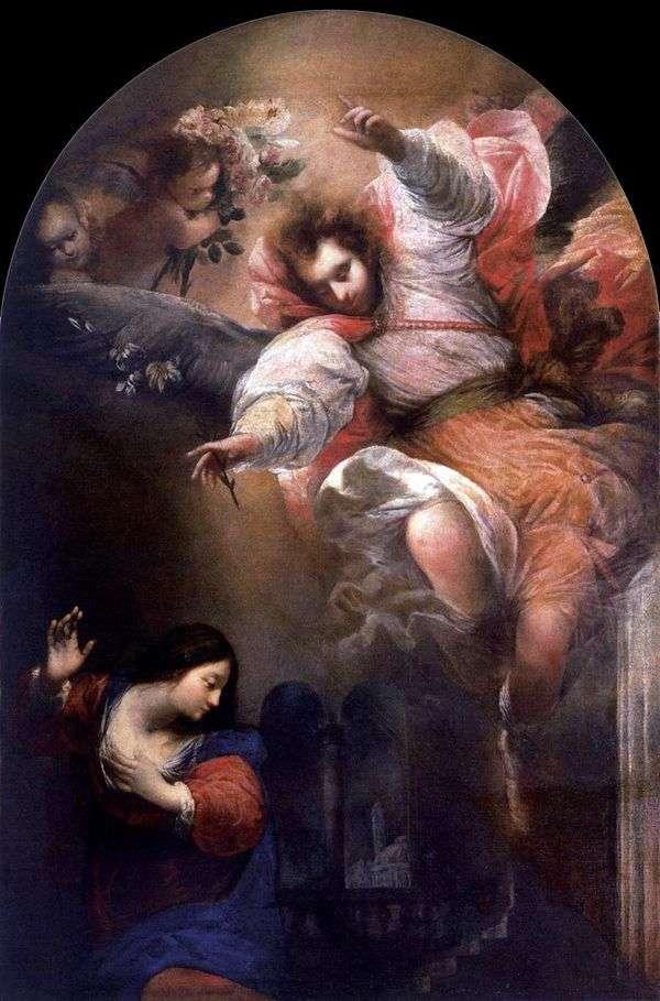 天使报喜   塞巴斯蒂亚诺马佐尼
