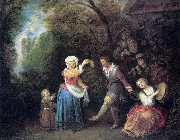 田园舞蹈   Jean Antoine Watteau