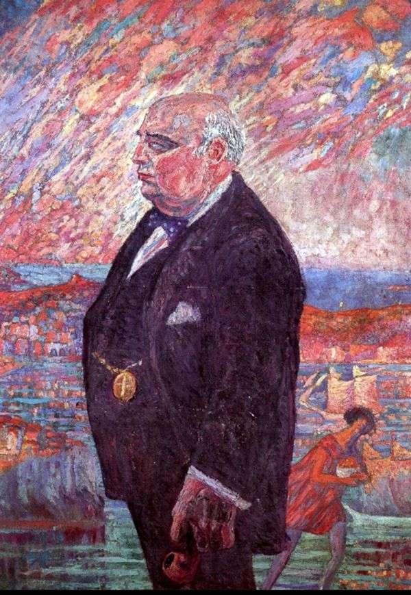 我父亲的画像   萨尔瓦多 达利