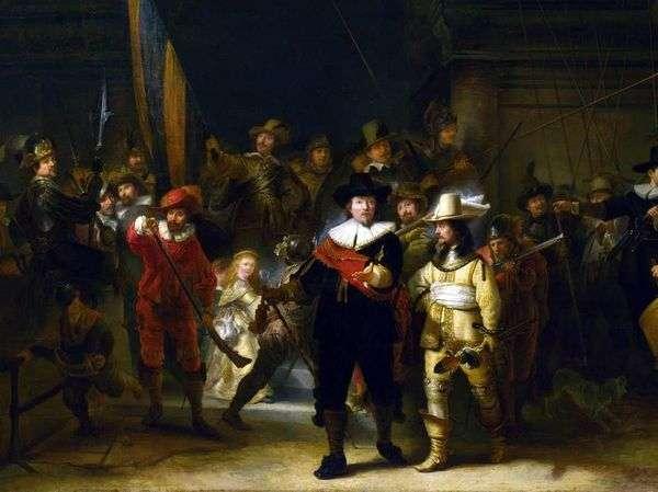 守夜人   Rembrandt Harmens Van Rhine