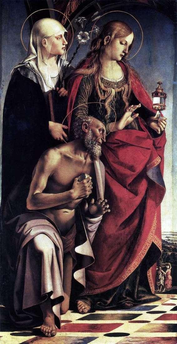 Sts祭坛。奥古斯丁   卢卡西诺雷利