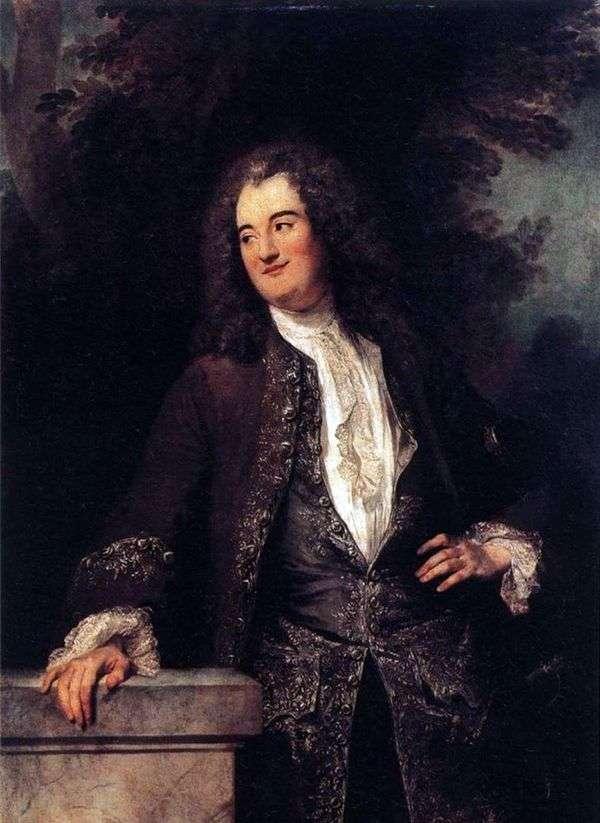绅士的肖像   让 安东尼 瓦托