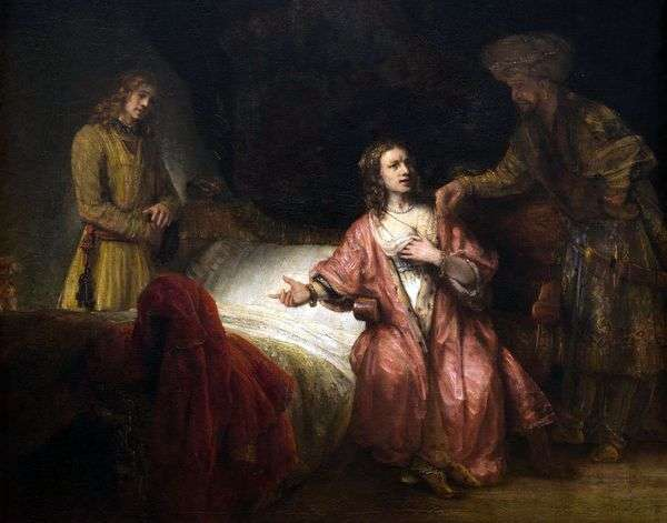 约瑟夫的起诉   Rembrandt Harmens Van Rhine