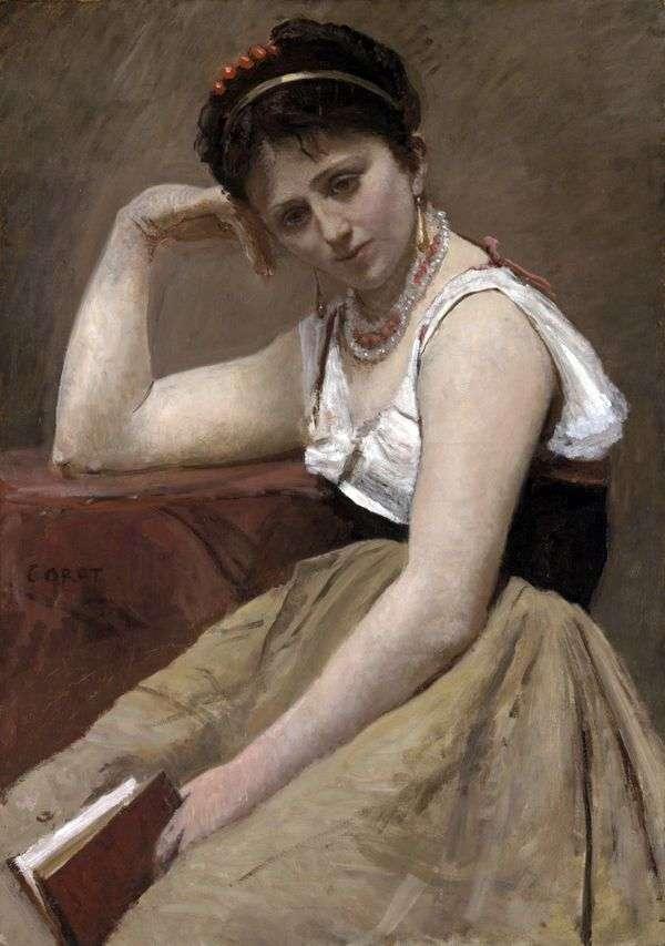 中断阅读   Camille Corot