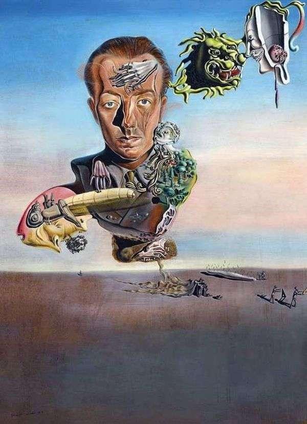 Paul Eluard的肖像   萨尔瓦多 达利