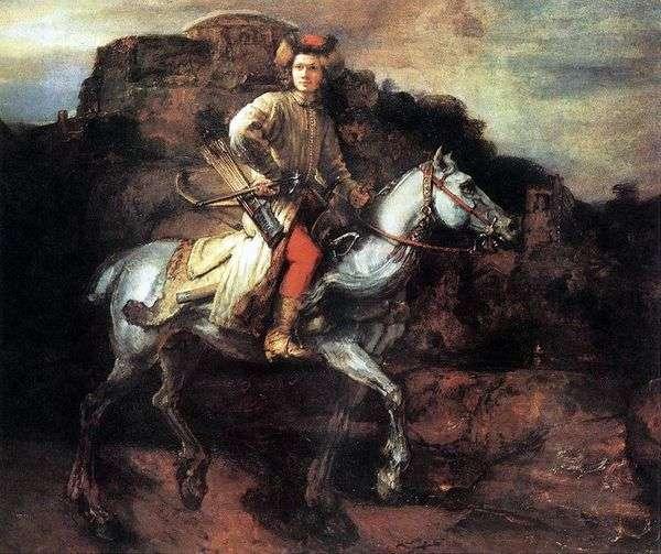 波兰骑士   伦勃朗哈门斯范莱茵