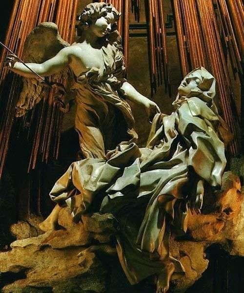 圣特丽莎的狂喜   洛伦佐贝尼尼
