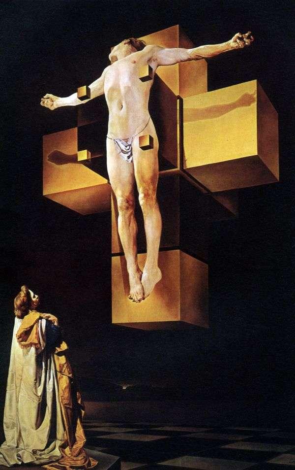 被钉十字架   萨尔瓦多 达利