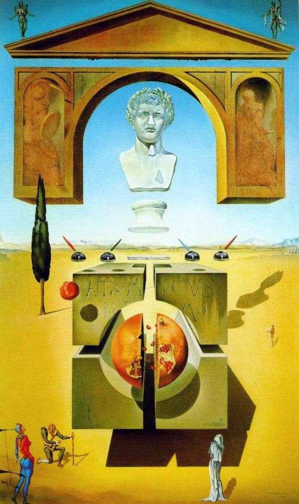 Atom Splitting   Salvador Dali