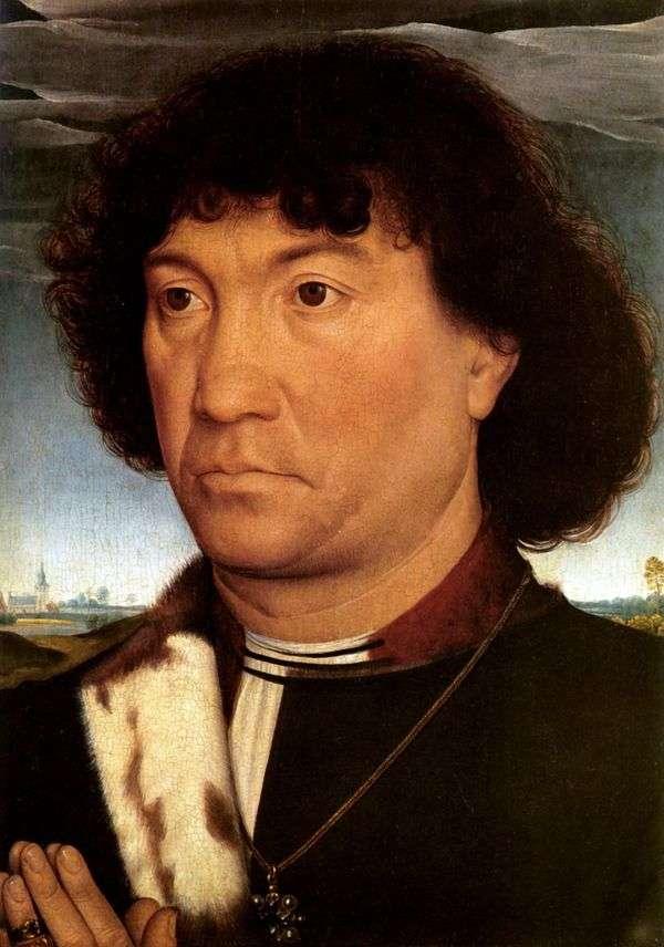 男人肖像   汉斯梅姆林