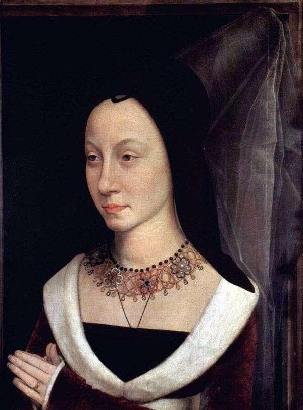 Maria Baroncelli的肖像   汉斯梅姆林
