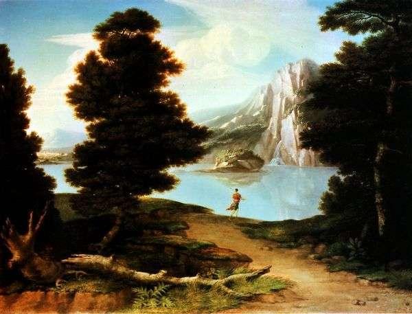 与湖   阿尔斯通华盛顿的风景