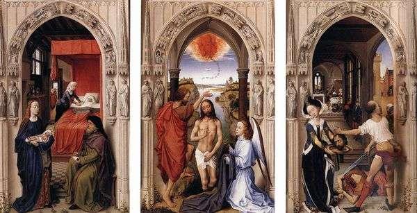 施洗者圣约翰祭坛   Rogier van der Weyden