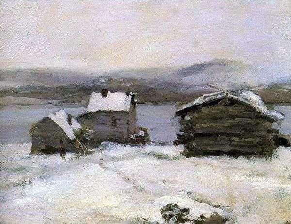 拉普兰的冬天   康斯坦丁科罗文