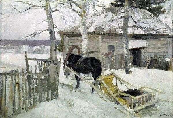 在冬天   康斯坦丁科罗文