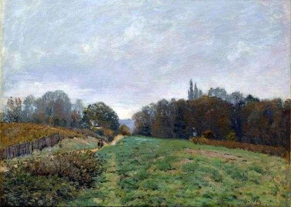 在Louviennenne的景观   阿尔弗雷德希思黎