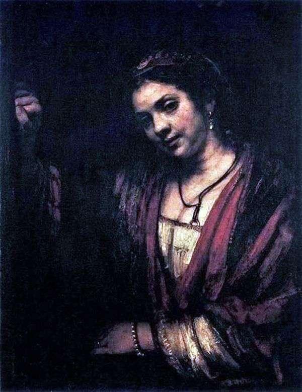 Hendrickje Stoffels的肖像   伦勃朗Harmens Van Rhine