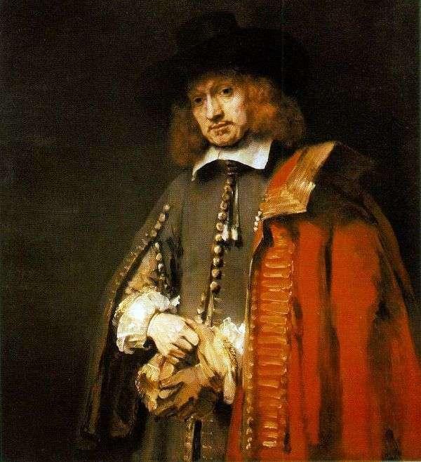 Jan Sixs的肖像   伦勃朗Harmens Van Rhine