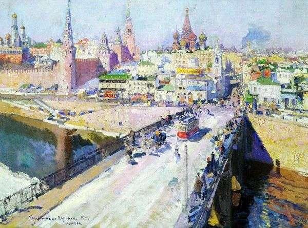 Moskvoretsky桥   康斯坦丁科罗文