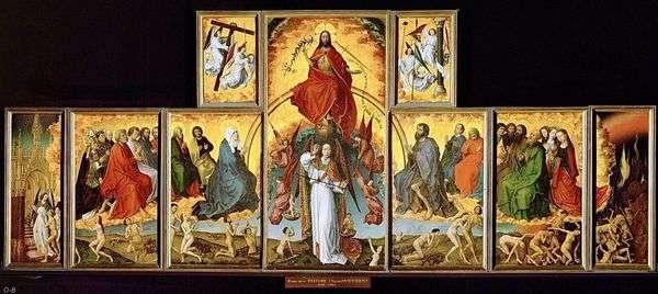最后的审判Polyptych   Rogier van der Weyden