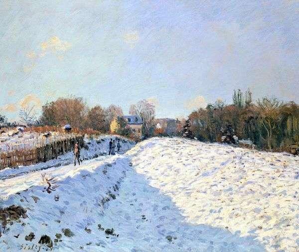 雪在Argenteei   阿尔弗雷德希思黎