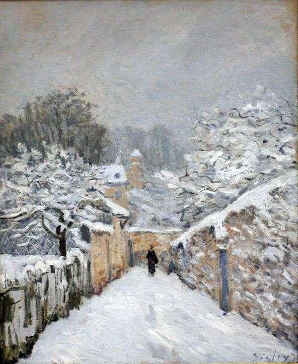 在Louviennenne的雪   阿尔弗雷德希思黎