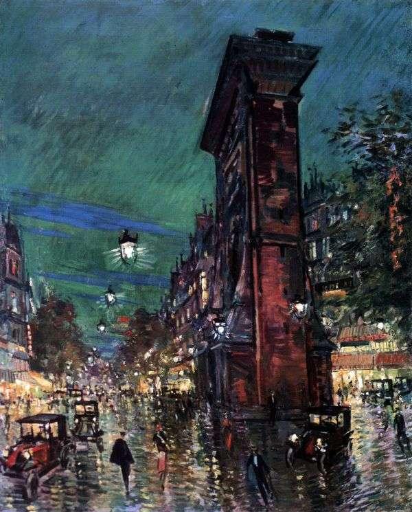 巴黎。圣丹尼斯   康斯坦丁科罗文