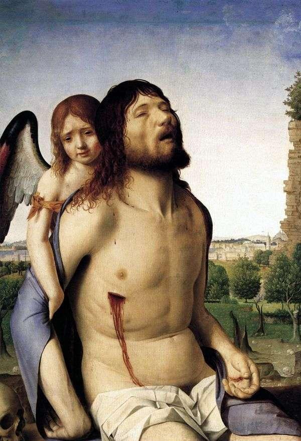 由天使支持的死基督   安东内洛达墨西拿