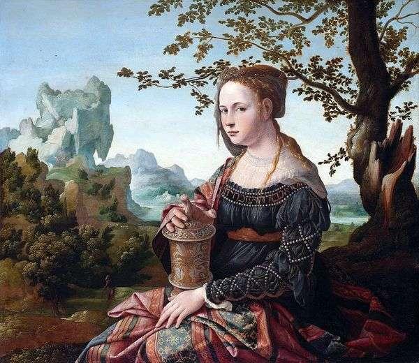 玛丽抹大拉   Jan van Corel