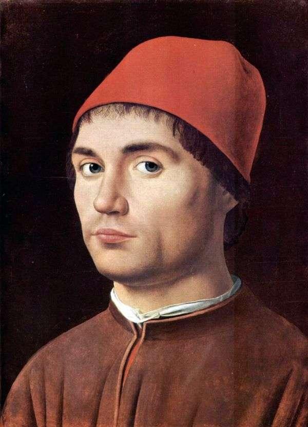 男性肖像   Antonello da Messina