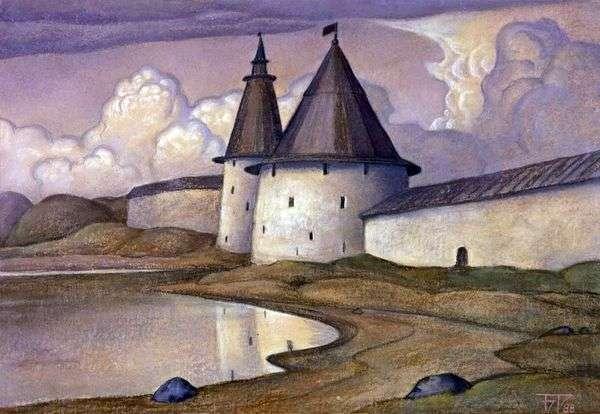 塔上的塔。普斯科夫   鲍里斯斯米尔诺夫   鲁日斯基
