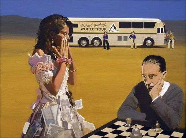 与特蕾西玩国际象棋   彼得布莱克