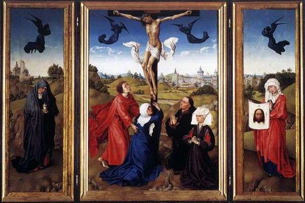 TriptychCrucifixion   Rogier van der Weyden