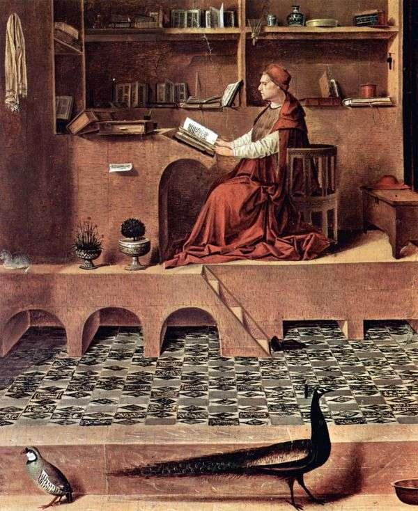 圣杰罗姆在细胞   Antonello da Messina