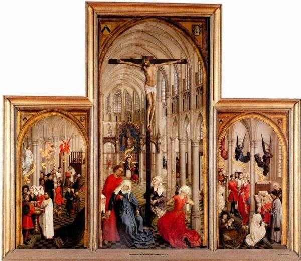 三联画The Seven Sacraments   Rogier van der Weyden