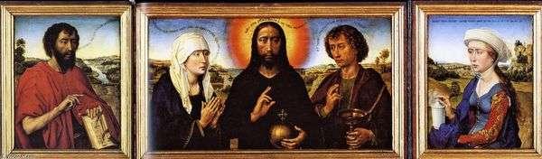 Triptych Braque   Rogier van der Weyden