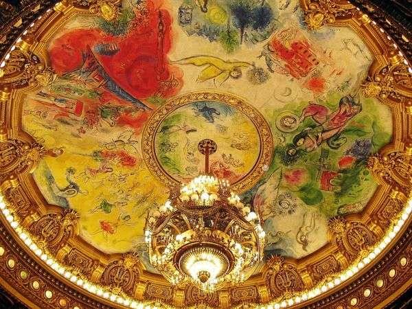 壁画和马赛克   马克夏加尔