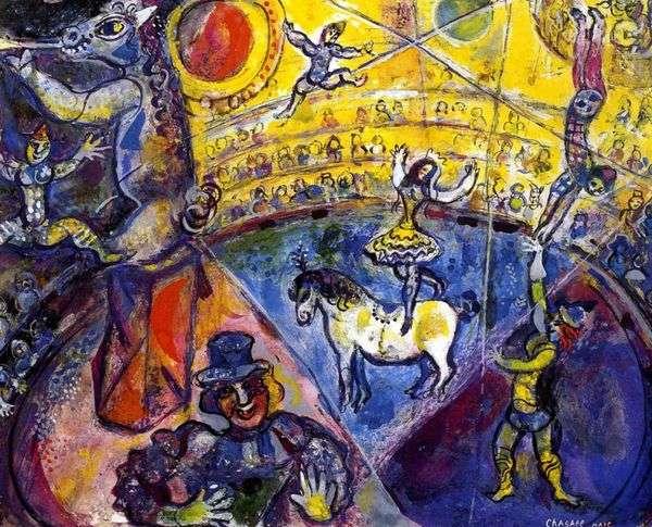Circus Horse   Marc Chagall