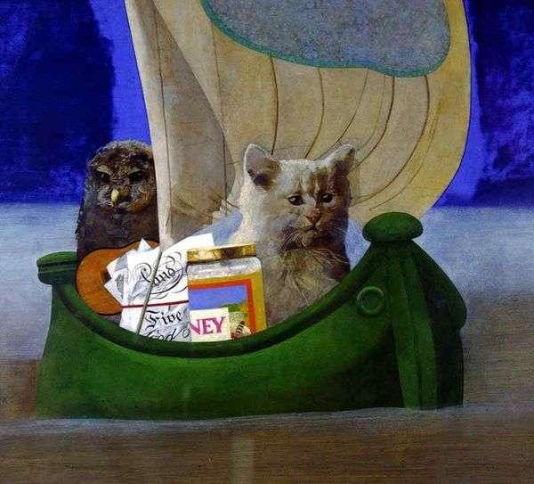 猫头鹰和猫   彼得布莱克