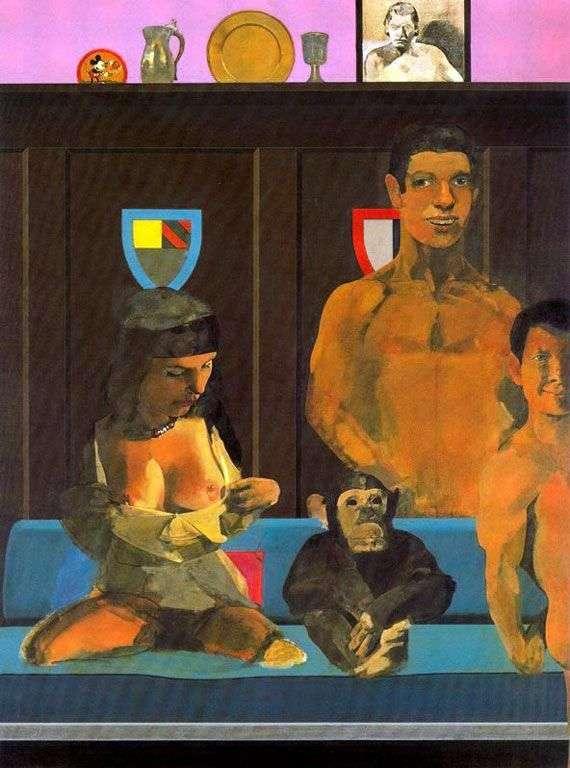 泰山,简,宝贝和赤塔   彼得布莱克