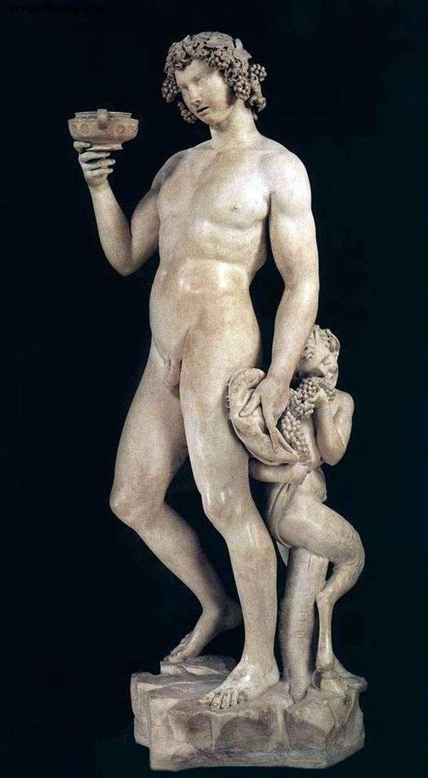 巴克斯(雕塑)   米开朗基罗Buonarroti
