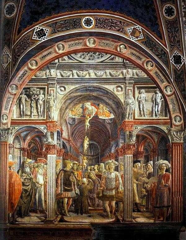 Saint Sorore的视觉   Vecchietta(Lorenzo di Pietro)