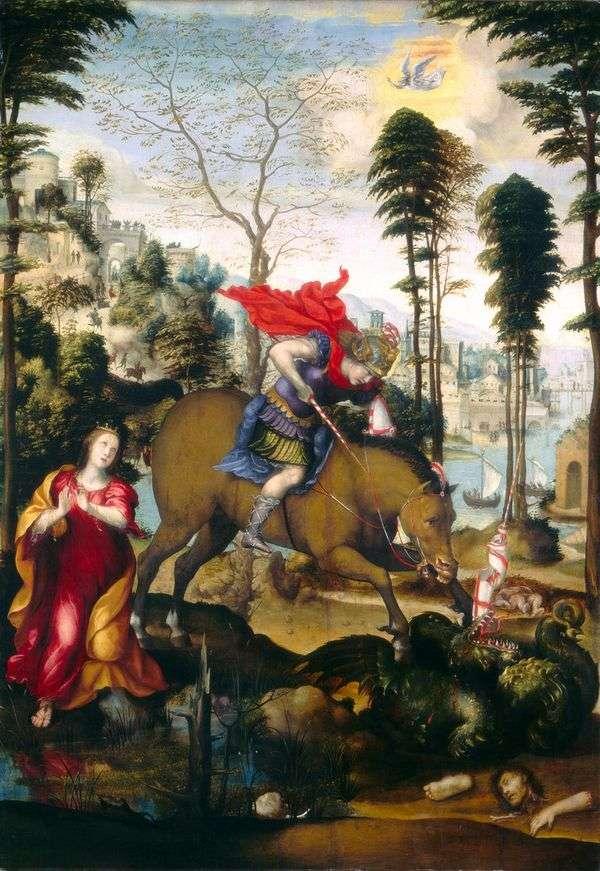 圣乔治和龙   所多玛