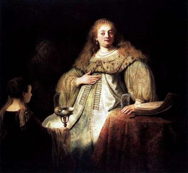Sofonisba带来一碗毒药   Rembrandt Harmens Van Rhine