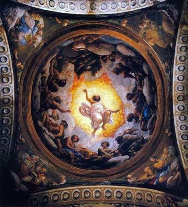 帕特莫斯的神圣约翰的愿景   科雷焦(Antonio Allegri)