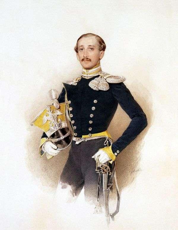 A. V. Veliyashev的肖像   彼得索科洛夫