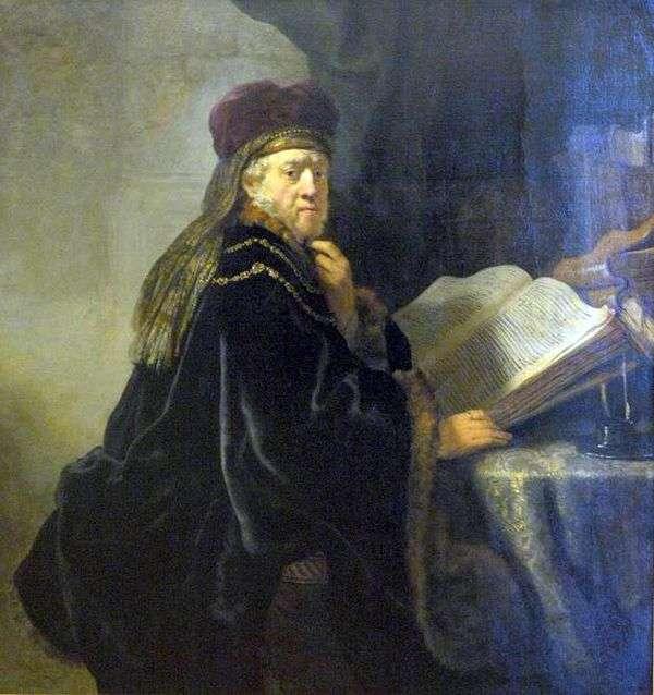 办公室的科学家(拉比)   伦勃朗哈门斯范莱茵