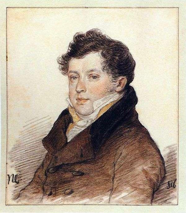 A. I. 屠格涅夫的肖像   彼得索科洛夫
