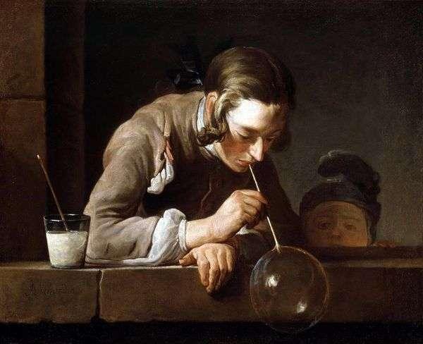 肥皂泡   Jean Baptiste Chardin